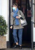 Daisy Edgar-Jones spotted grabbing a drink from Joe & The Juice in London, UK