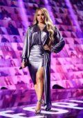 Demi Lovato attends the 2020 E! People's Choice Awards at The Barker Hangar in Santa Monica, California