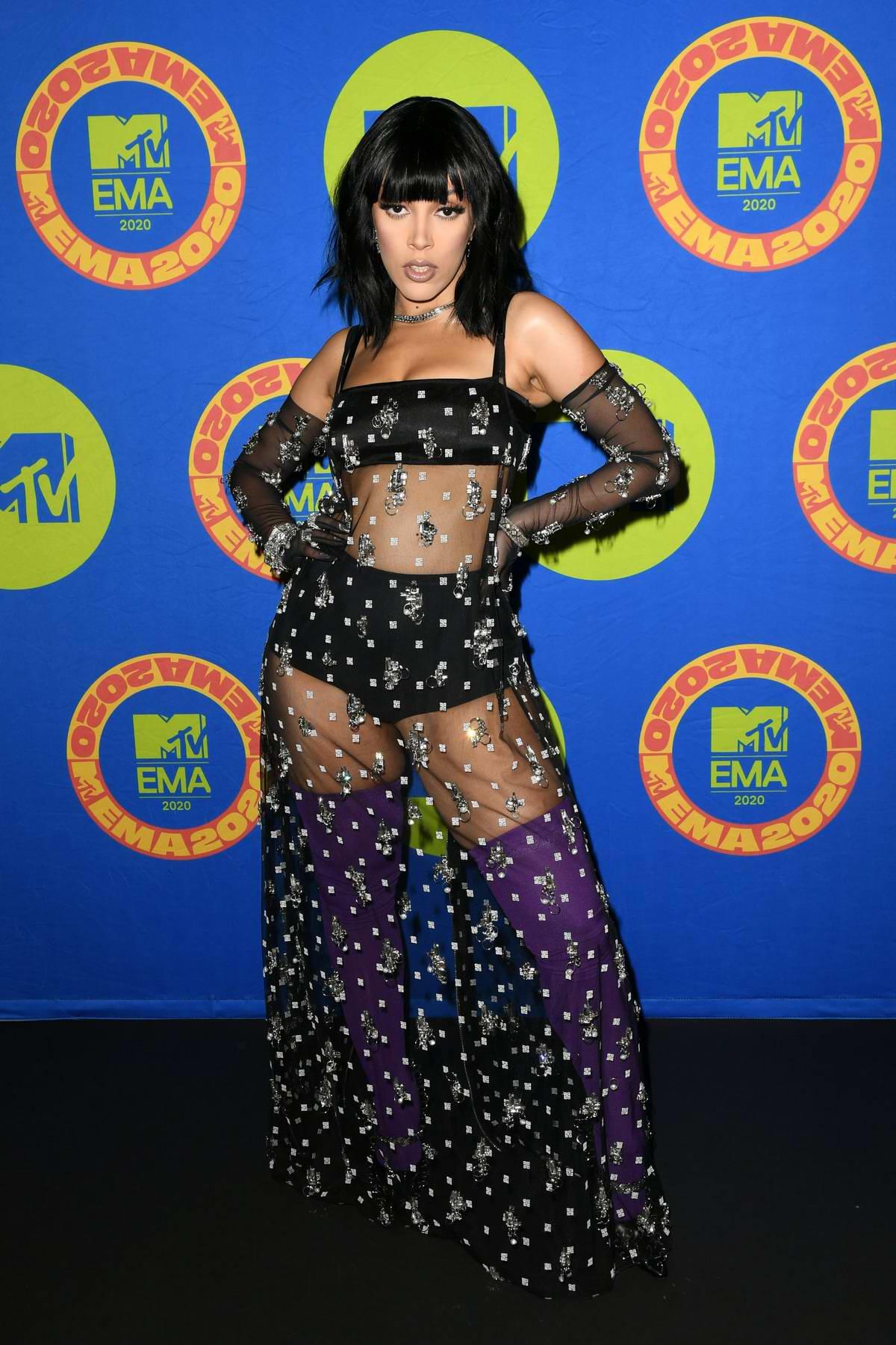 Doja Cat attends the 2020 MTV European Music Awards (MTV EMAs 2020) in Los Angeles