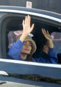 Emily Ratajkowski celebrates Joe Biden's win with husband Sebastian Bear-McClard in Los Angeles
