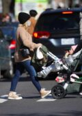 Hilary Duff and Matthew Koma step out to do some shopping in New York City