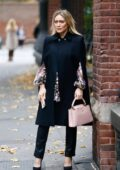 Hilary Duff spotted in multiple outfits while filming scenes for 'Younger' in New York City