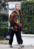 Iris Law shows off her quirky style while spotted out and about in North London, UK