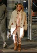 Jennifer Lopez looks cozy as she heads out with Alex Rodriguez and her kids in New York