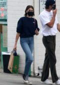 Kaia Gerber and Jacob Elordi go out for coffee and a trip to Healthy spot in Los Angeles