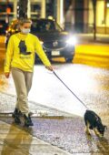Lili Reinhart keeps thing casual as she steps to walk her dog in Vancouver, Canada