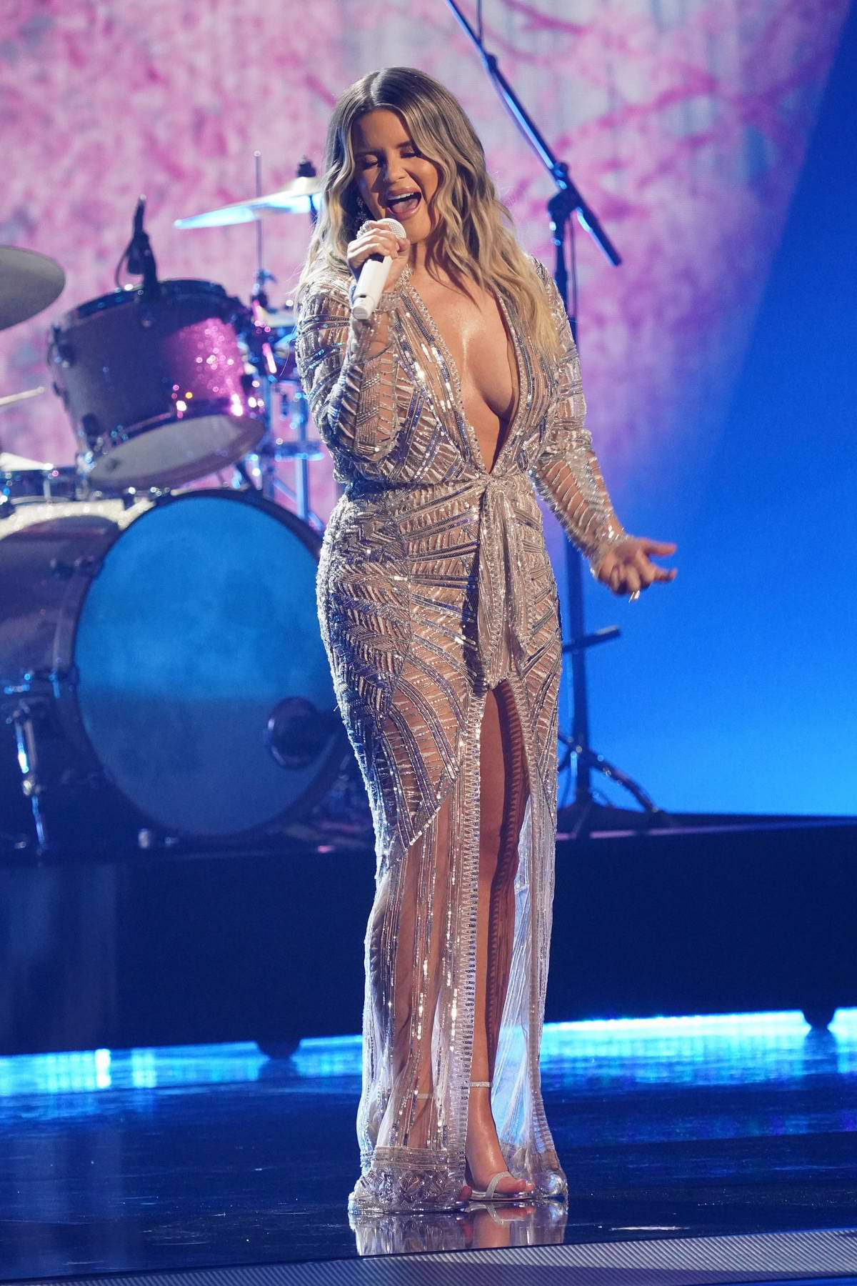 Maren Morris attends the 54th annual CMA Awards at the Music City Center in Nashville, Tennessee