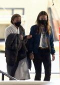 Olivia Wilde and Florence Pugh spotted together on the set of 'Don't Worry Darling' in Los Angeles