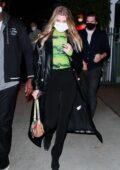 Sofia Richie seen leaving with new boyfriend Matthew Morton after dinner at Giorgio Baldi in Santa Monica, California