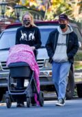 Sophie Turner and Joe Jonas spotted taking their daughter out in Los Angeles