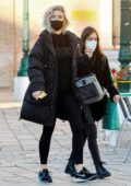 Vanessa Kirby heads to get a COVID-19 test to film 'Mission Impossible 7' after touching down in Venice, Italy