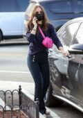 Ana de Armas shows off her curves as she steps out for more Christmas shopping in Pacific Palisades, California