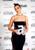 Dua Lipa attends the 2020 Attitude Awards in London, UK
