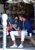 Eiza Gonzalez enjoys a coffee date with rumored new boyfriend Dusty Lachowicz in Los Angeles