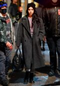 Hailee Steinfeld spotted on the set of 'Hawkeye' while filming a scene in New York City