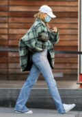 Hailey Bieber and Justin Bieber step out for some Christmas shopping at Maxfield in West Hollywood, California