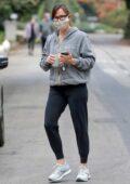 Jennifer Garner keeps it casual as she steps out for a solo walk in Santa Monica, California
