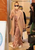 Jennifer Lopez keeps it chic during a dermatologist appointment in Beverly Hills, California