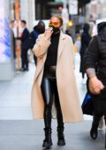 Jennifer Lopez looks chic during a shopping trip to the Dior boutique in New York City
