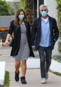 Katharine McPhee steps out for some retail therapy with husband David Foster in West Hollywood, California
