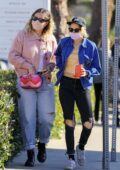 Kristen Stewart seen shopping at Country Mart with a friend in Malibu, California