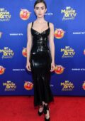 Lily Collins attends the 2020 MTV Movie & TV Awards in Los Angeles