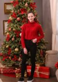 Mackenzie Foy visits Hallmark Channel's 'Home & Family' at Universal Studios in Hollywood, California