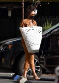 Shay Mitchell looks classy as she makes a stop at a local laundromat in Los Feliz, California