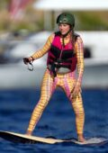 Sofia Richie and Lionel Richie enjoy some watersports during their fun-packed holiday in St Barts, France