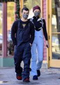 Sophie Turner and Joe Jonas step out for some shopping in Mammoth Lakes, California
