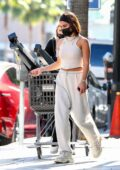 Vanessa Hudgens looks casual yet trendy while out for some shopping with her BFF GG Magree in Los Angeles