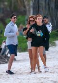 Bella Thorne seen partying with boyfriend Benjamin Mascolo in Tulum, Mexico
