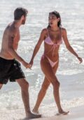 Chantel Jeffries spotted in a pink bikini as she hits the beach with Andrew Taggart in Tulum, Mexico