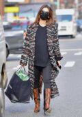 Emily Ratajkowski looks striking as she steps out for a doctor's appointment in New York City