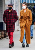 Katie Holmes and Emilio Vitolo Jr head out on a stroll in New York City