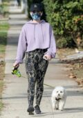 Lucy Hale gets back to her routine as she goes for a hike with her dog before stopping by Target in Los Angeles