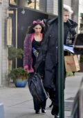 Megan Fox and Machine Gun Kelly seen outside their hotel in New York City
