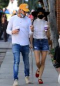 Selma Blair steps out for coffee with boyfriend Ron Carlson in West Hollywood, California