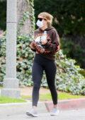 Sofia Richie seen enjoying a stroll aorund her neighborhood with a mystery man in Los Angeles