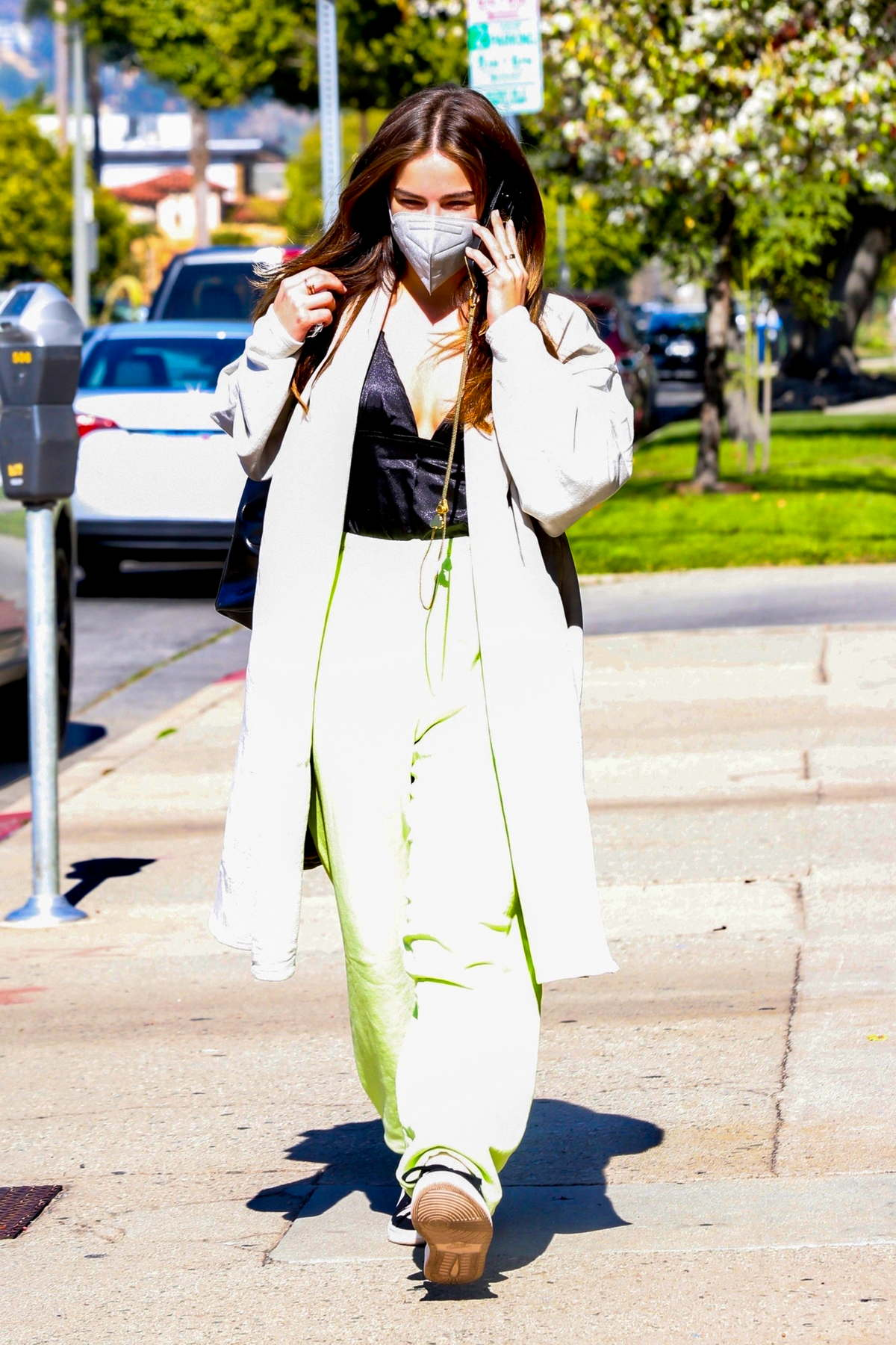 Addison Rae keeps it business casual while heading for a meeting in Los Angeles