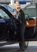 Amber Heard and girlfriend Bianca Butti fly out of town for a Valentine's Day gateway, Los Angeles