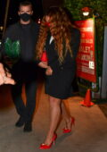 Beyonce and Jay-Z keep it low key while out for dinner on Valentine's Day in Santa Monica, California