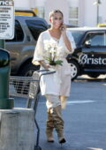 Chrissy Teigein and John Legend stop by Bristol Farms to pick up essentials in Beverly Hills, California