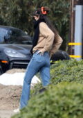 Dakota Johnson seen leaving her new $12.5 million home after meeting with a designer in Malibu, California