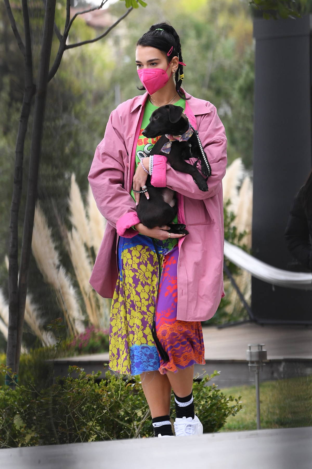 Dua Lipa and Anwar Hadid spotted house hunting as they view a luxurious $3 Million house in Los Angeles