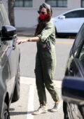 Jordana Brewster gets some shopping done with her boyfriend Mason Morfit in Beverly Hills, California