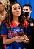 Olivia Culpo attends 'The Shaq Bowl' in Tampa, Florida
