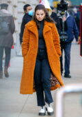 Selena Gomez looks radiant as she continues filming for 'Only Murders In The Building' in New York City