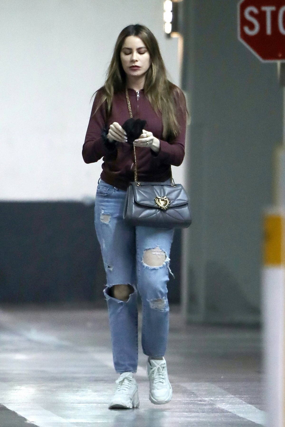 Sofia Vergara keeps it casual while visiting the doctor's office in Los Angeles