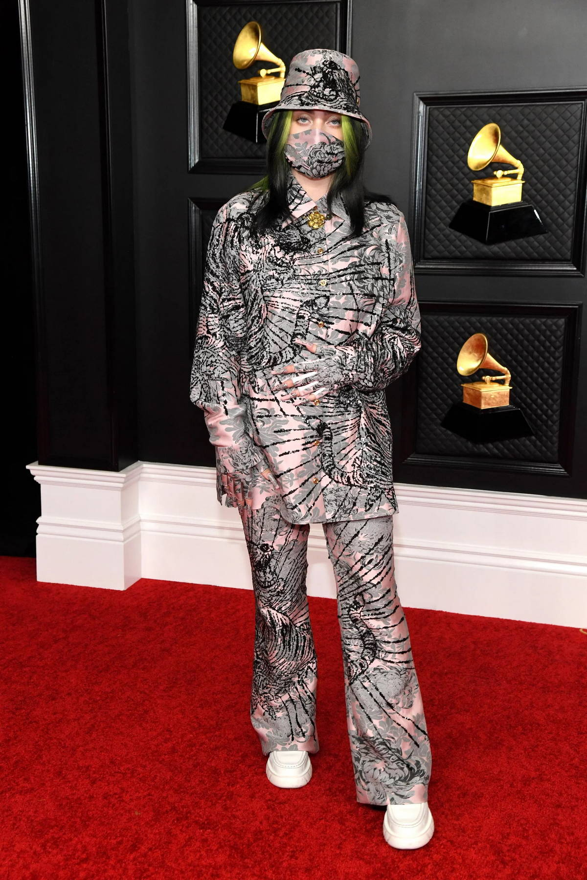 Billie Eilish attends the 63rd Annual GRAMMY Awards at the STAPLES Center in Los Angeles